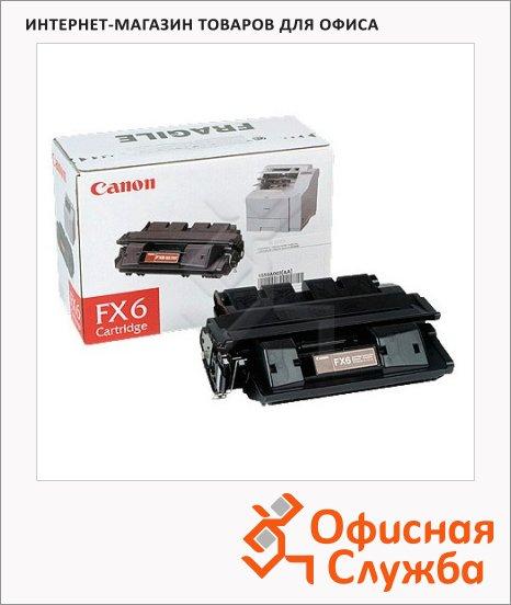Картридж для факса лазерный Canon FX-6 1559A003, черный, 5000стр