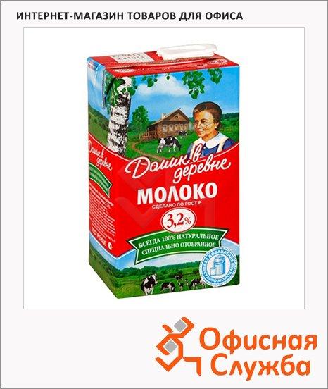 Молоко Домик В Деревне, 950г, ультрапастеризованное
