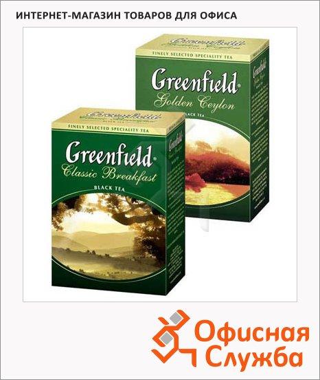 Чай Greenfield, черный, листовой, 100 г