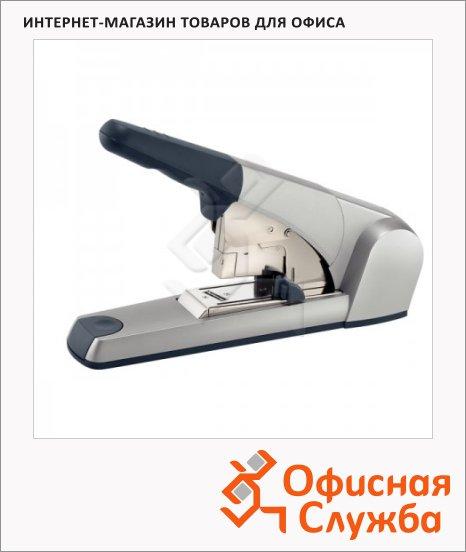 Степлер Leitz Heavy Duty №23/15XL, до 120 листов, серебристо-серый, плоское сшивание, +1000 скоб, 5553