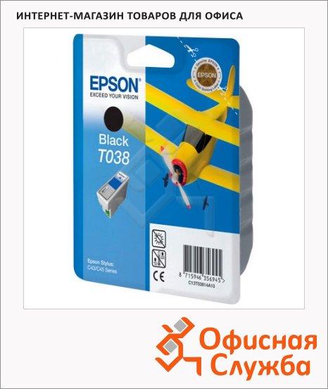 фото: Картридж струйный Epson C13 T03814 A10 черный