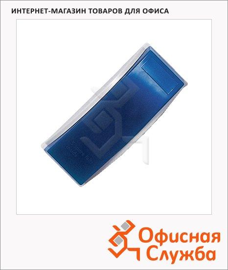 Губка для маркерной доски Magnetoplan 12293 14.7х4.9х5.6см, магнитный, синий, с фетровыми полосками