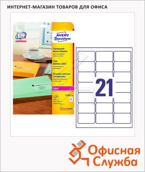 �������� �������� Avery Zweckform QuickPeel, �����, 21�� �� ����� �4
