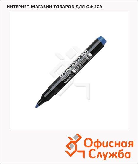 Маркер перманентный Schneider 160, 1-3мм, круглый наконечник