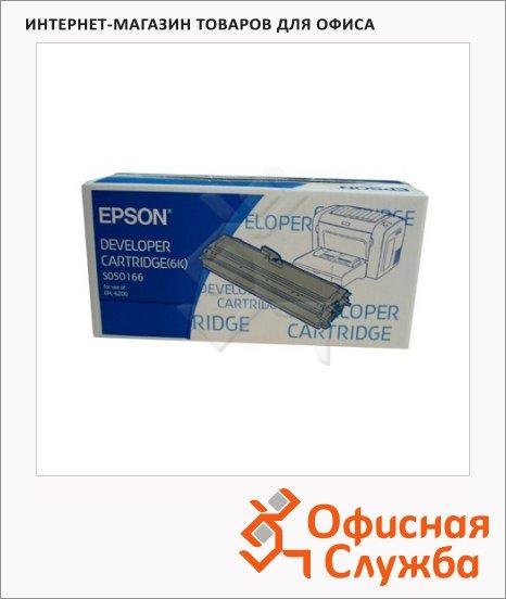 фото: Тонер-картридж Epson C13S050166 черный