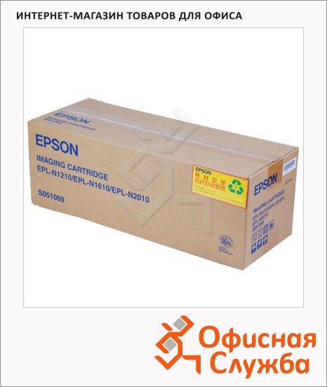 фото: Тонер-картридж Epson C13S051069 черный