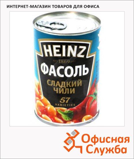 Фасоль Heinz сладкий чили, 390г