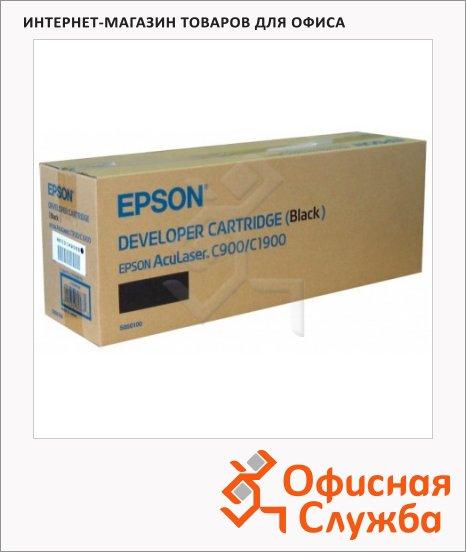 Тонер-картридж Epson C13S050100, черный