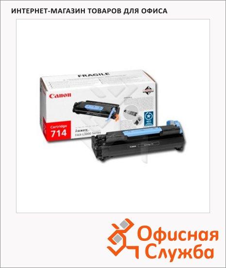 Тонер-картридж Canon 714, черный, (1153B002)