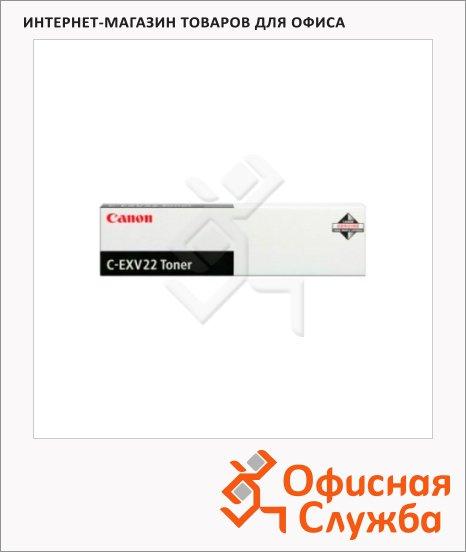 Тонер-картридж Canon C-EXV22, черный, (1872B002)