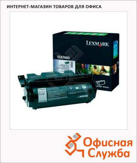 фото: Тонер-картридж Lexmark 12A7460 черный