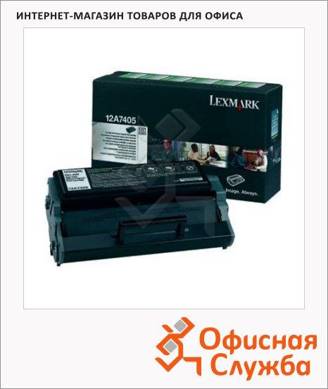 Тонер-картридж Lexmark 12А7405, черный