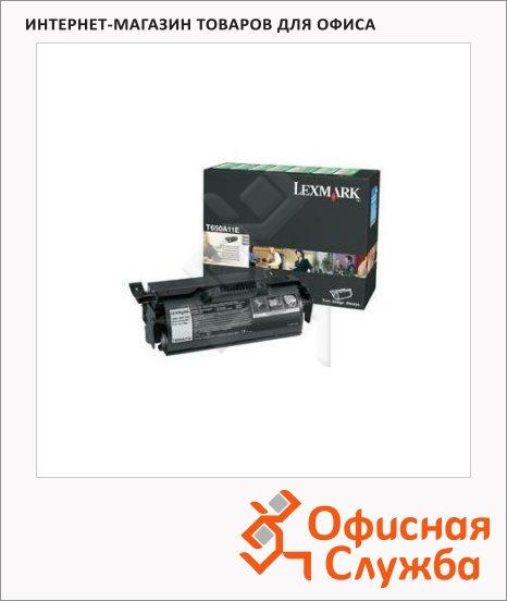 Тонер-картридж Lexmark T650A21E, черный