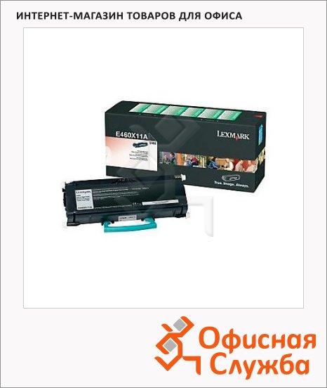 Тонер-картридж Lexmark E460X11E, черный