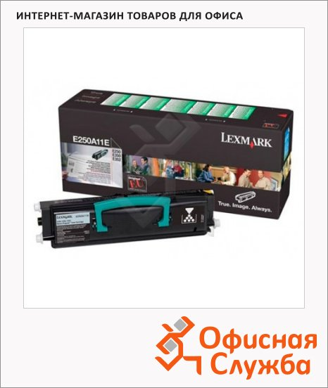 фото: Тонер-картридж Lexmark E250A11E черный