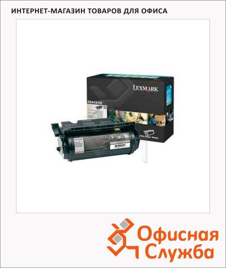 Тонер-картридж Lexmark LXX644X11E, черный