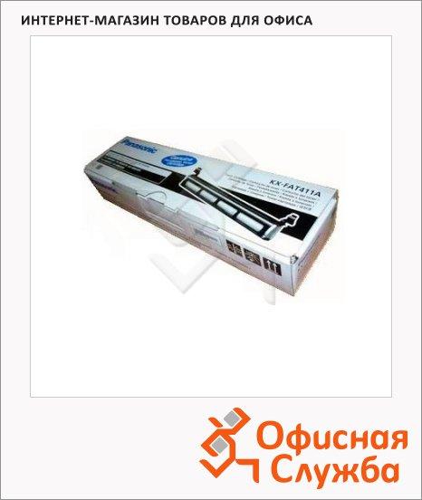 Тонер-картридж Panasonic KX-FAT411A, черный, 2000стр