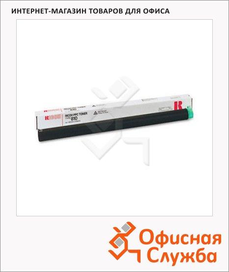 Тонер-картридж Ricoh 810, черный