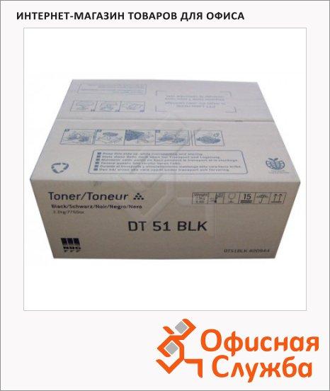 Тонер-картридж Ricoh DT51BLKT, черный