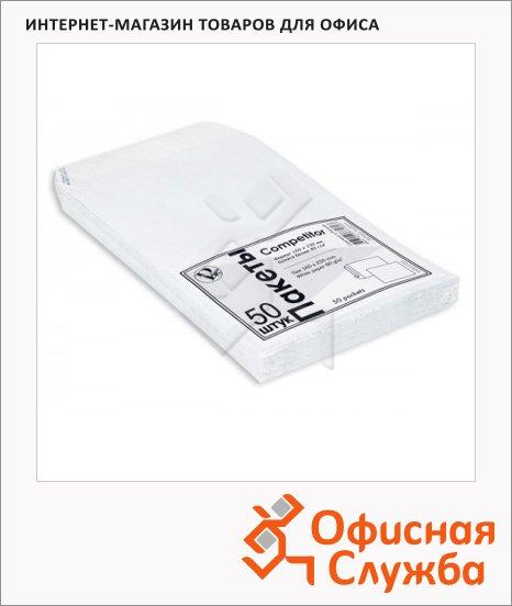 Пакет почтовый бумажный плоский Businesspack С5 белый, 160х230мм, стрип