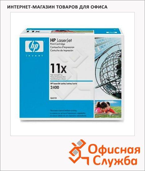 Тонер-картридж Hp Q6511X, черный повышенной емкости
