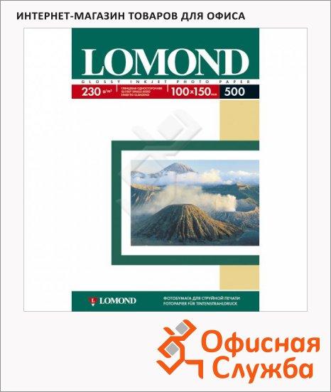 Фотобумага для струйных принтеров Lomond, глянцевая