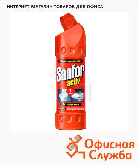 Чистящее средство Sanfor Activ 500мл, антиржавчина, гель