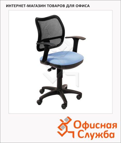 Кресло офисное Бюрократ CH-797AXSN ткань, черная, крестовина пластик