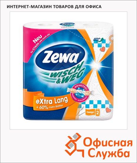 Бумажные полотенца все Zewa Wisch&Weg Extra Lang