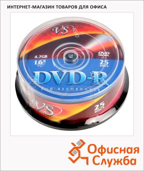 ���� DVD-R Vs Cake Box 4.7Gb, 16x, 25��/��