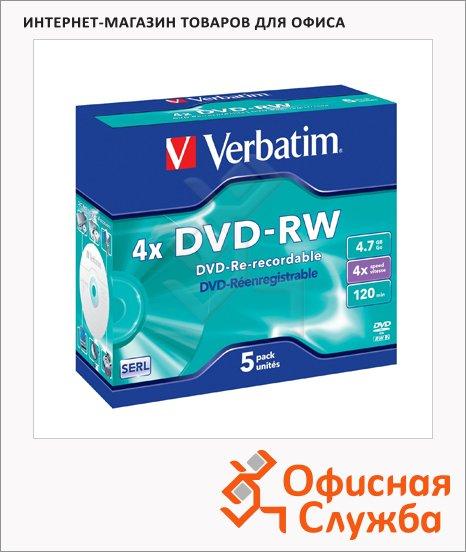 Диск DVD-RW Verbatim
