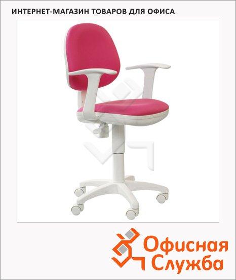 Кресло офисное Бюрократ CH-W356AXSN ткань, крестовина пластик, белая