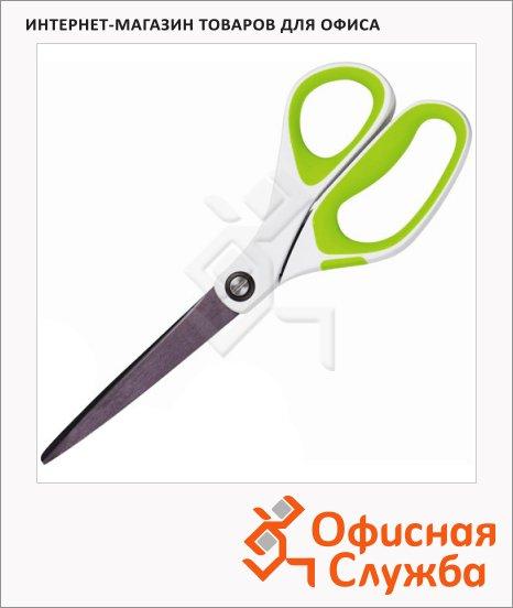 фото: Ножницы Scotch 20см бело-зеленые