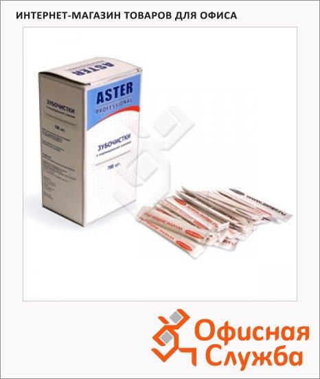 Зубочистки Aster 700шт, бумажная упаковка