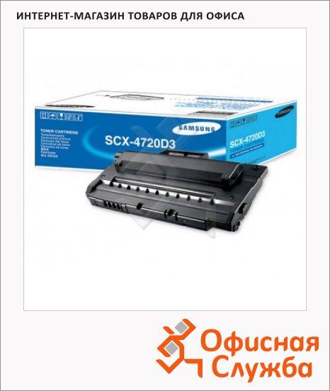 Тонер-картридж Samsung SCX-4720D3, черный