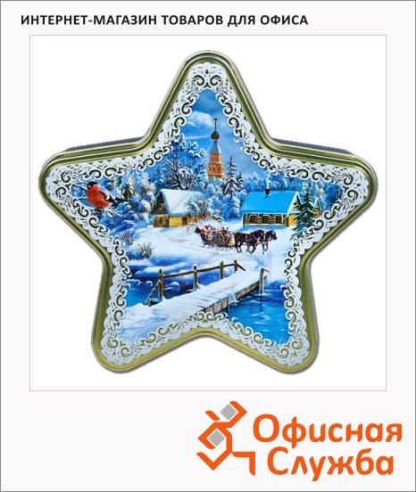 Чай Hilltop Звездочка Зимняя сказка, черный, листовой, 100 г, ж/б