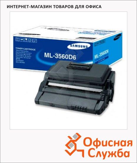 Тонер-картридж Samsung ML-3560D6, черный