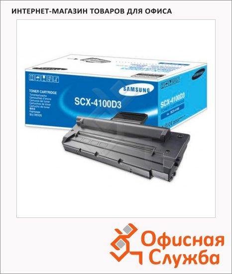 фото: Тонер-картридж Samsung SCX-4100D3 черный