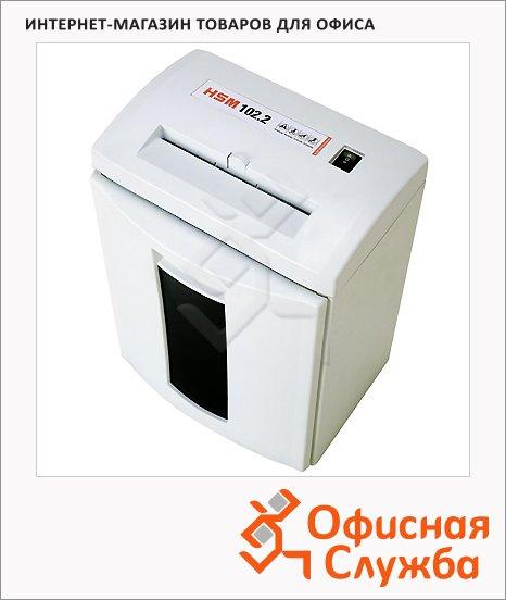 Персональный шредер Hsm 102.2-4х25, 7 листов, 25 литров, 3 уровень секретности