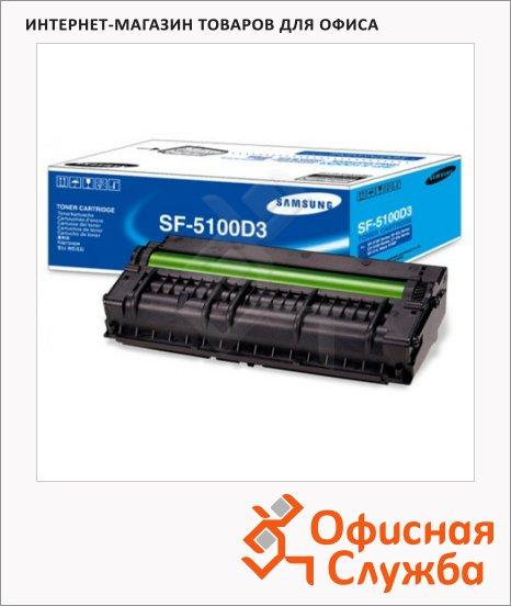 фото: Тонер-картридж Samsung SF-5100D3 черный