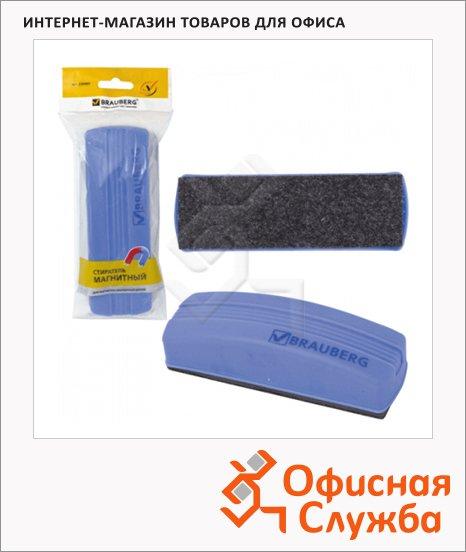 фото: Губка для маркерной доски Brauberg 160х55 мм магнитный, синий