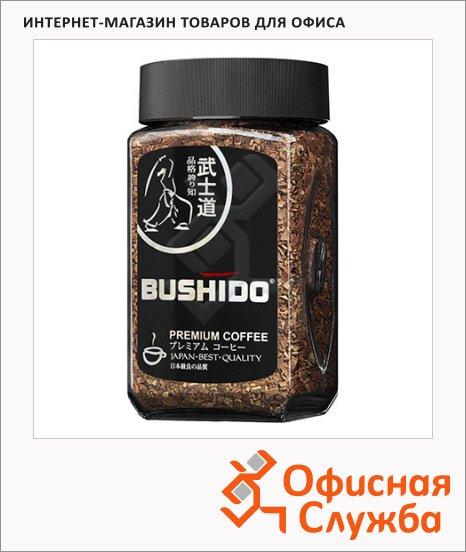 Кофе растворимый Bushido Black Katana, стекло