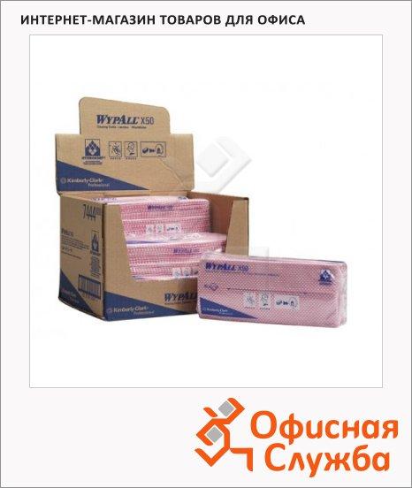 Протирочные салфетки Kimberly-Clark WypAll Х50, листовые, 300шт, 1 слой