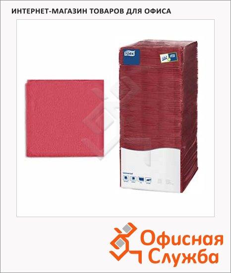 Салфетки сервировочные Tork Universal, 25х25см, 1 слой, 500шт