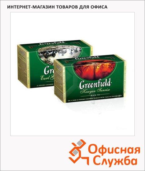 Чай Greenfield, черный, 25 пакетиков