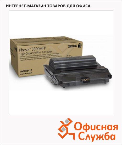 Тонер-картридж Xerox 106R01412, черный повышенной емкости