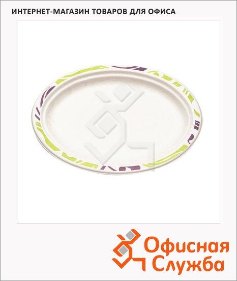 Тарелка одноразовая Chinet Duet, 50шт/уп