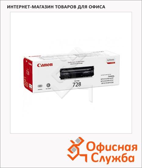 фото: Тонер-картридж Canon 728 черный, (3500B002/3500B010)