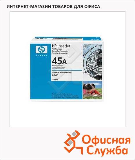 Тонер-картридж Hp Q5945A, черный