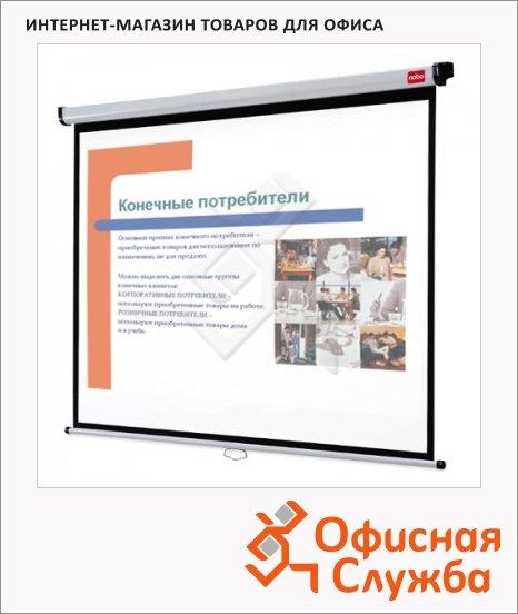 Экран для проектора настенный Nobo Ассо Brands